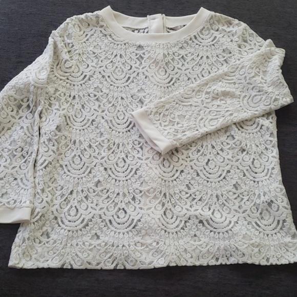Banana Republic Tops - Banana republic lace blouse